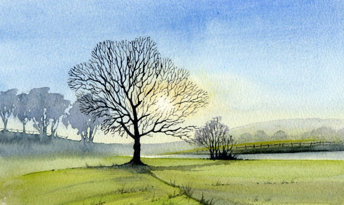 The painting trees obsession shows no signs abating .. wonder if the GP could prescribe a suitable medication #trees #YorkshireDales <br>http://pic.twitter.com/42gK3lfMPC