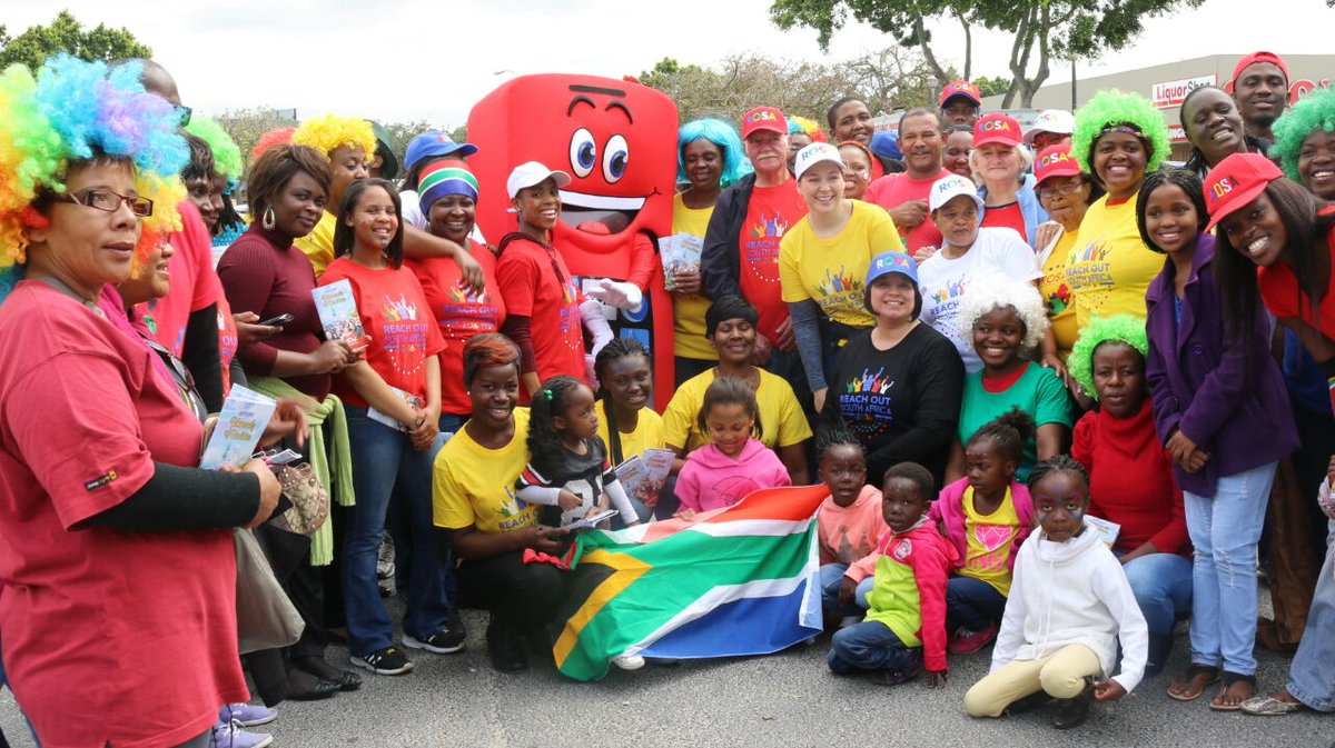 #HeritageDay #ROSA2017 is upon us. Pictures from last year as we spread God&#39;s #love in #CapeTown #SouthAfrica #Unity #Joy #Celebration<br>http://pic.twitter.com/13Zaz0dtuy
