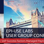 Want to know more about the journey from SAP to SuccessFactors? Join Danielle Larocca at our annual conference https://t.co/aM715RtU47