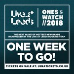 #LALOTW 1 week countdown begins! Who's coming? Tix available here (£8 adv) > https://t.co/tiz0NYLHNb