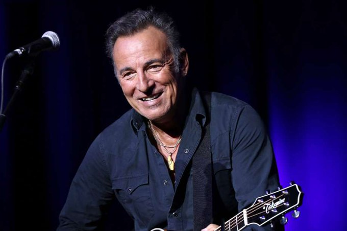 Happy birthday to Bruce Springsteen! The boss turns 68 today!