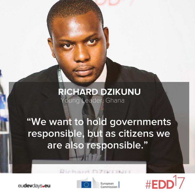 How leadership through responsibility can shape #globaldev. #EDD17 @DzikunuRichard shares his thoughts :  http:// tinyurl.com/ydeptvm  &nbsp;  <br>http://pic.twitter.com/QbLw3ILrKJ