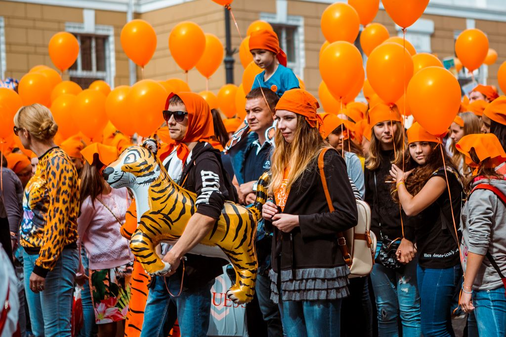 Фото день тигра во владивостоке, картинки