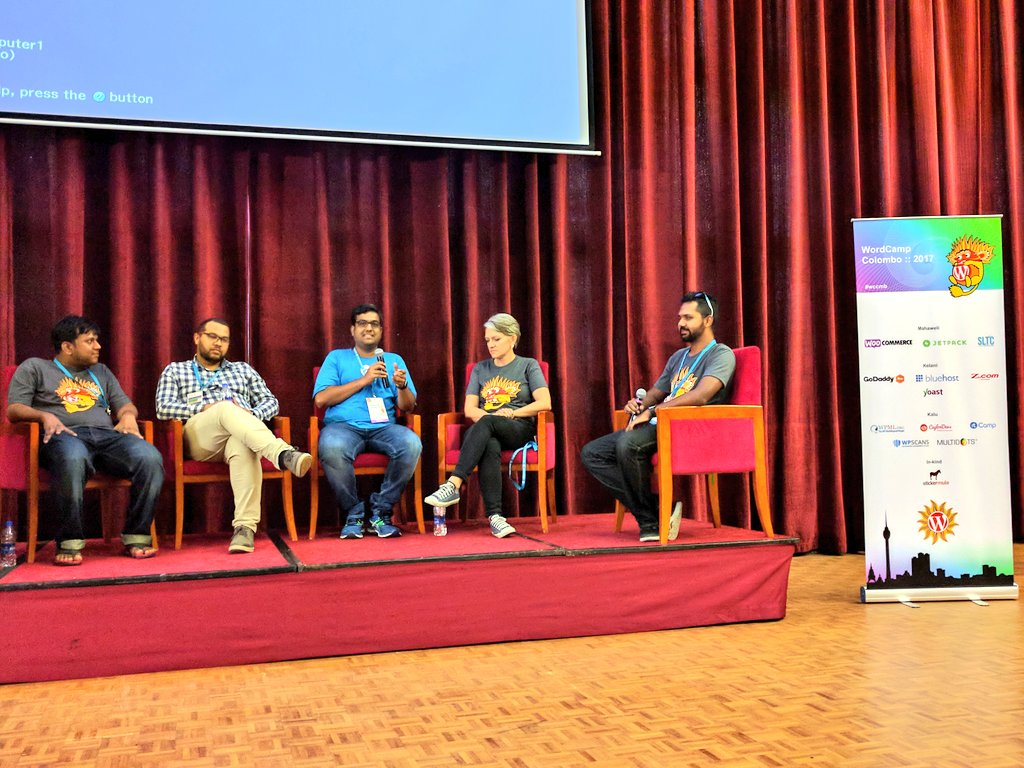 test Twitter Media - We are having the panel discussion at @wccolombo by @rahul286 @karenalma @nprasath002 @dwainm! #wccmb #wccmb2017 #WordCamp #PanelDiscussion https://t.co/ES4kYWydtO