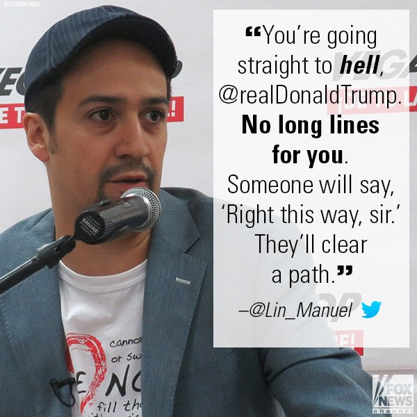 Politicians & celebs, including @Lin_Manuel, react to President @realDonaldTrump's tweets slamming Puerto Rico mayor http://fxn.ws/2x5bLK9