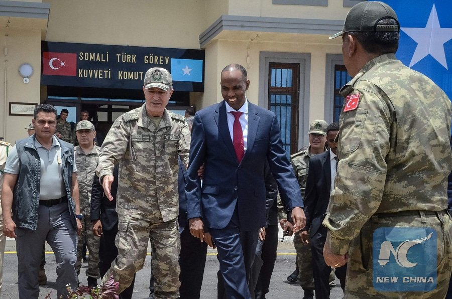 تركيا تفتتح أكبر قاعدة عسكرية خارج حدودها DK_OqC8XcAA-irY