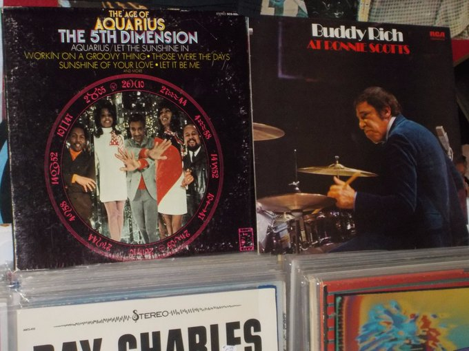 Happy Birthday to Marilyn McCoo of the Fifth Dimension & the late Buddy Rich