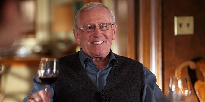 Raise a glass to Len Cariou, AKA patriarch Henry Reagan. Happy birthday!