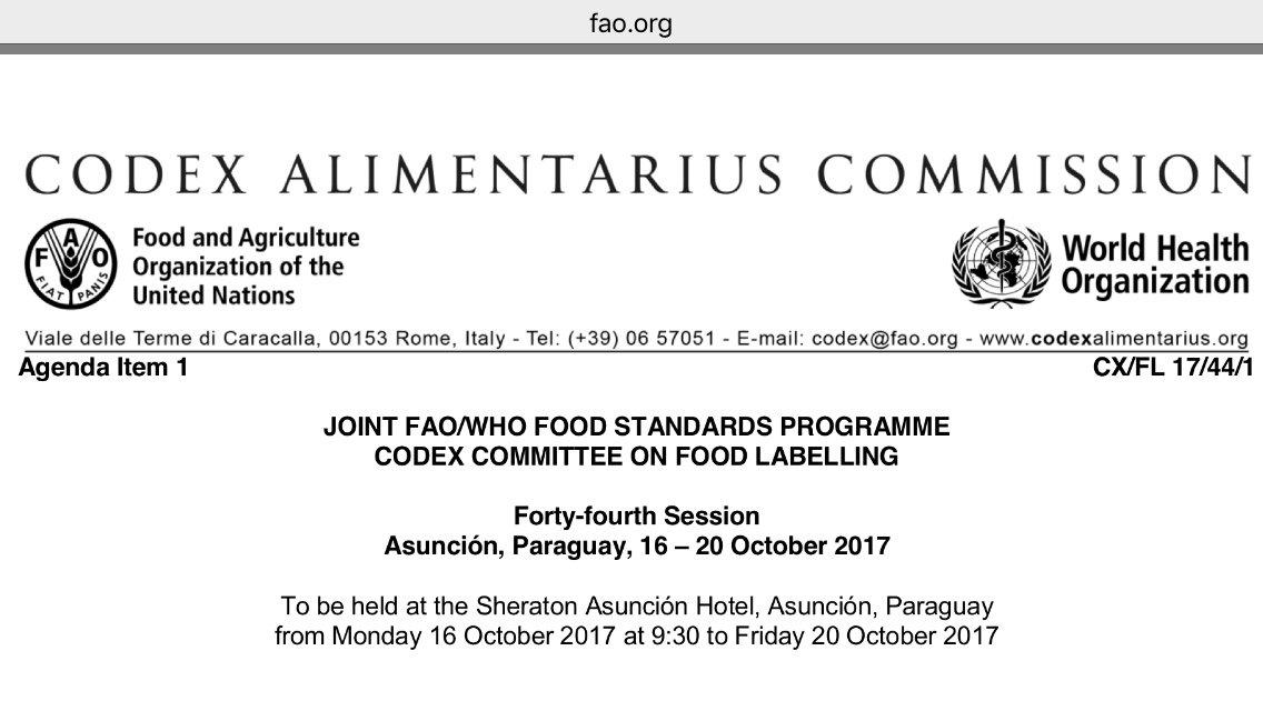 codex alimentarius pdf deutsch