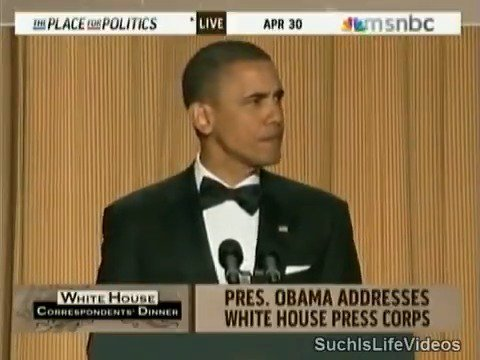 The night @BarackObama roasted @realDonaldTrump into oblivion in front of the entire world.   Never forget.   #RacistPresident