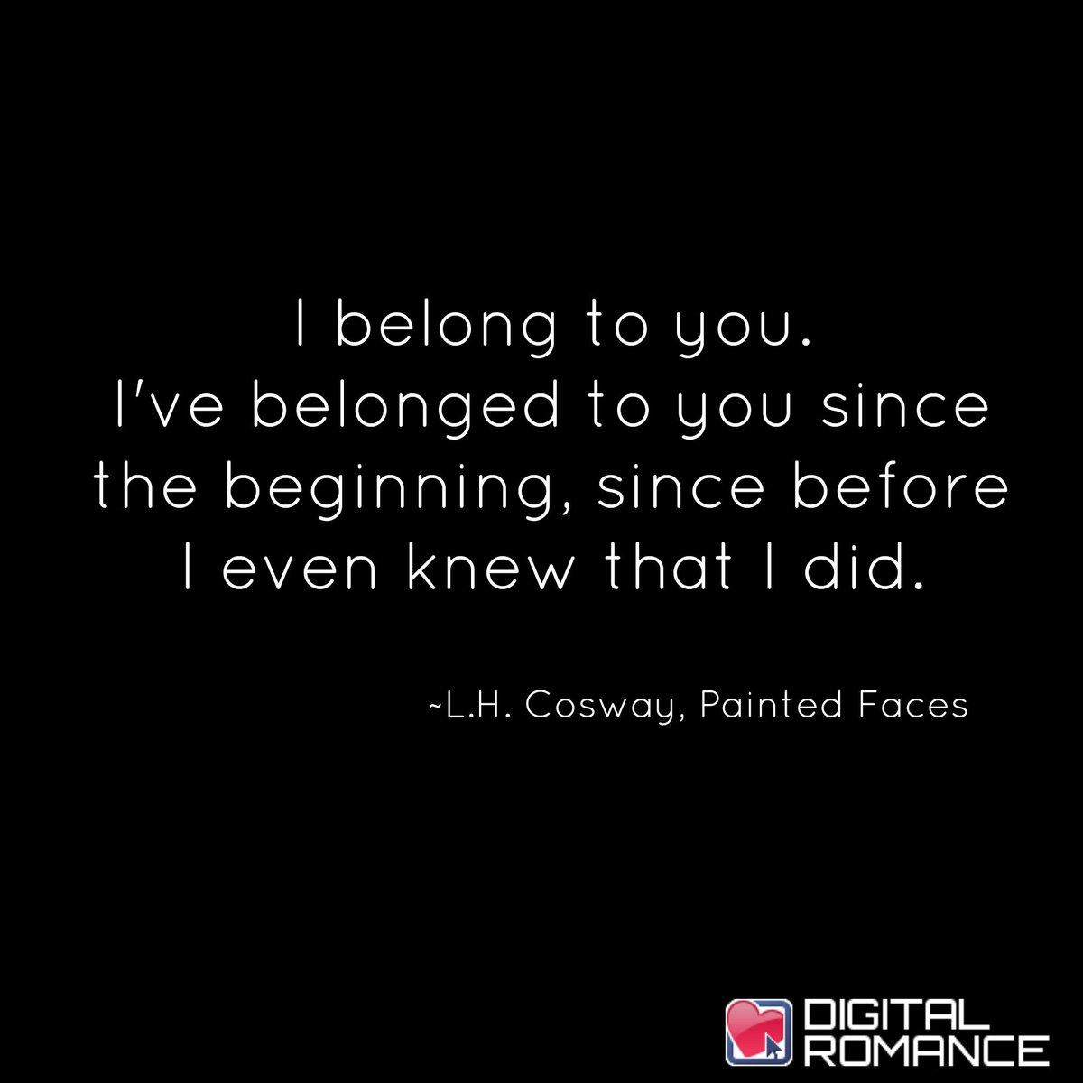 Digital Romance Inc On Twitter I Belong To You Ive Belonged To