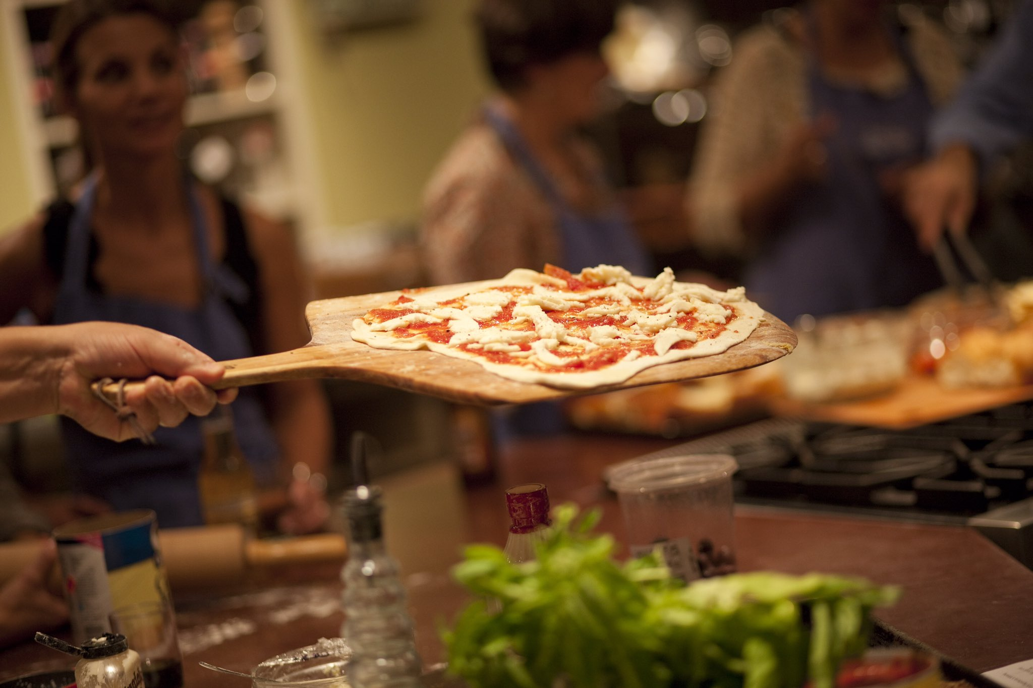 Wooden Spoon Chicago On Twitter Pizza Class Improv Show Just