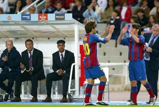 Happy birthday Frank Rijkaard - the coach who gave Messi his Barça debut