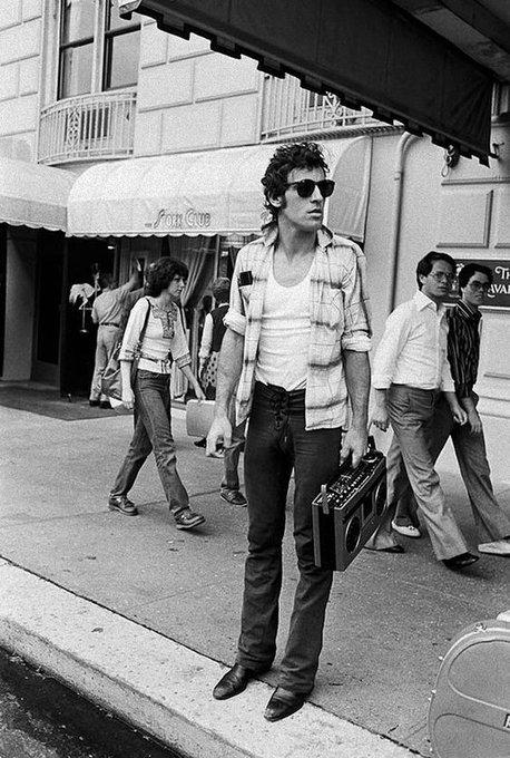 Happy birthday to Bruce Springsteen. Photo by Lynn Goldsmith, 1978.