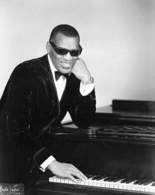 Happy birthday to one of the best to ever sit at a piano, Ray Charles!