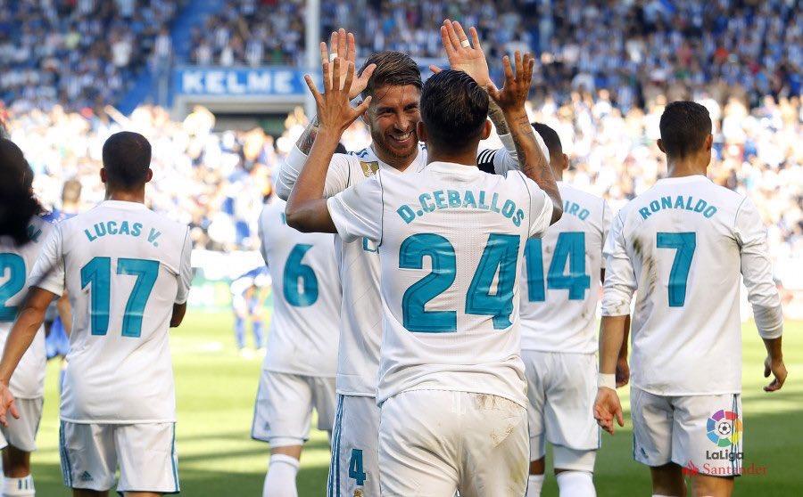 أهداف مباراة ريال مدريد والأفيس
