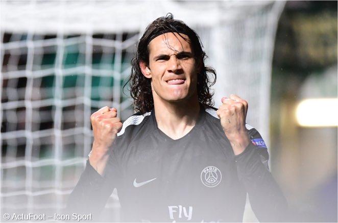 Cavani: 'La Ligue 1 hausse son niveau. Et ça s'est vu avec une équipe qui est allée en demi-finale de la Ligue des Champions' (@footmercato)