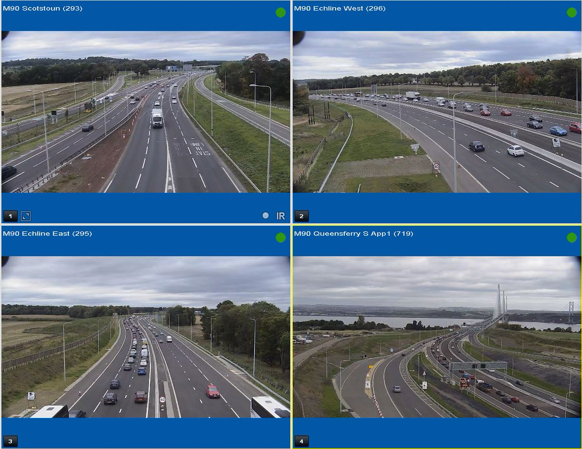 test Twitter Media - 🔍A quick peek at the Queensferry Crossing... 🔍 Slow traffic heading N/B, busy but moving. S/B traffic is running well! 👍 https://t.co/ylsoCY9Wo5