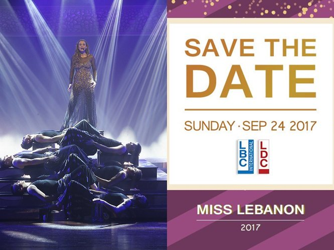 Save The Date!  #MissLebanon2017 Sunday September 24 on #LBCI &amp; #LDC @CAROLE_SAMAHA<br>http://pic.twitter.com/qWYES6qWmt