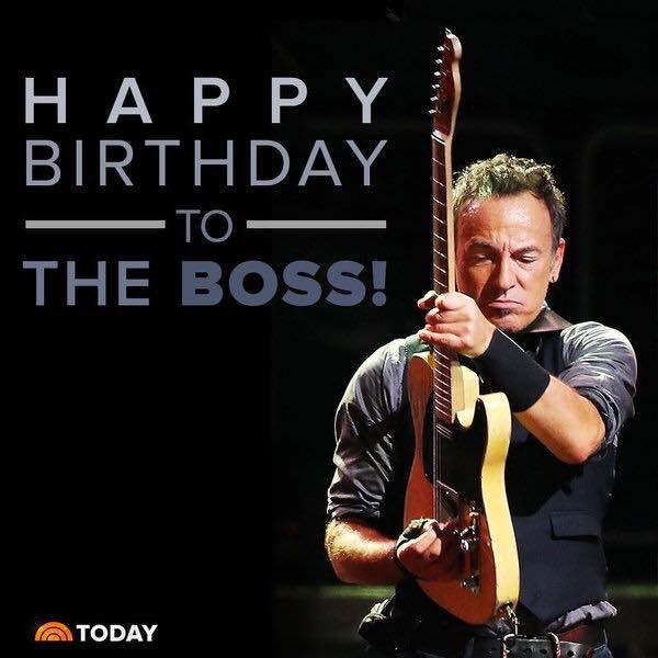 Happy Birthday Bruce Springsteen