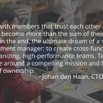 Do you have what it takes to be a great #agile team leader? Learn more via @Johandenhaan & @SamWalkers https://t.co/MK9SEy7wSy