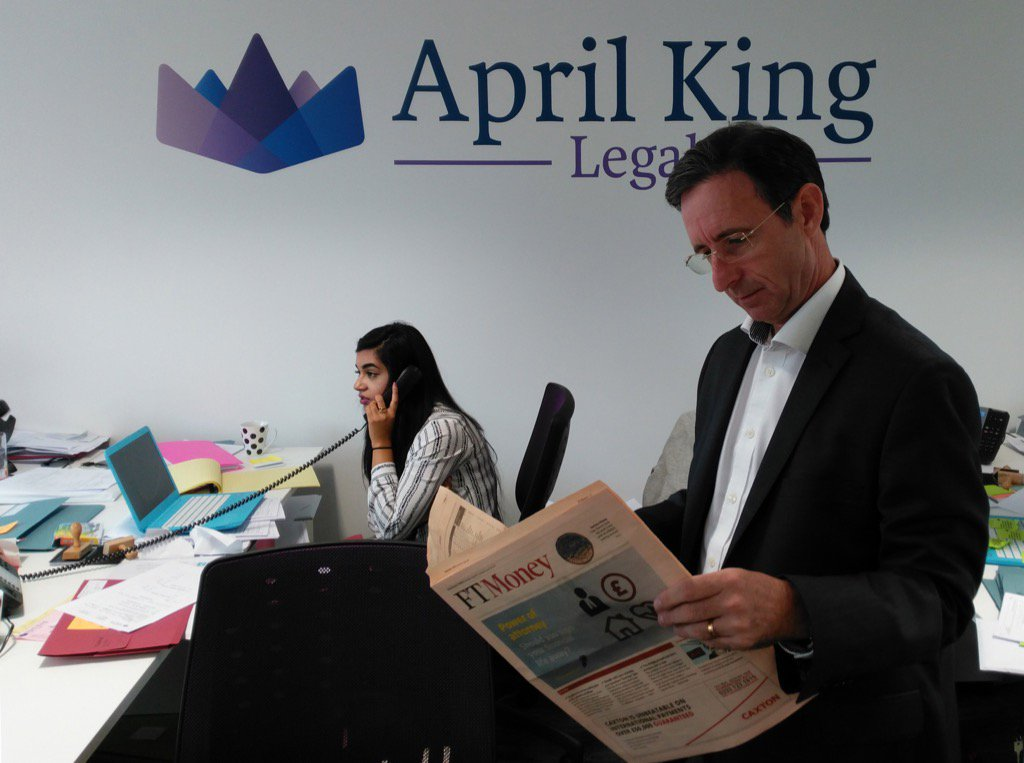 test Twitter Media - Paul King from April King Legal speaks to the Financial Times about the importance of Lasting Power of Attorney. https://t.co/HciKuMkWLz