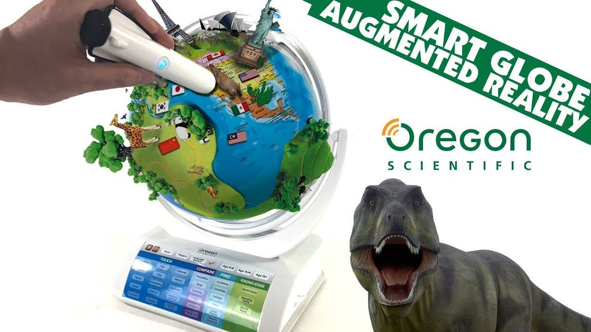 SmartGlobe Explorer #AR #AugmentedReality by Oregon Scientific Smart Toy || Keith&#39;s Toy Box  https:// buff.ly/2xxw0DY  &nbsp;  <br>http://pic.twitter.com/mEDUMvUooY