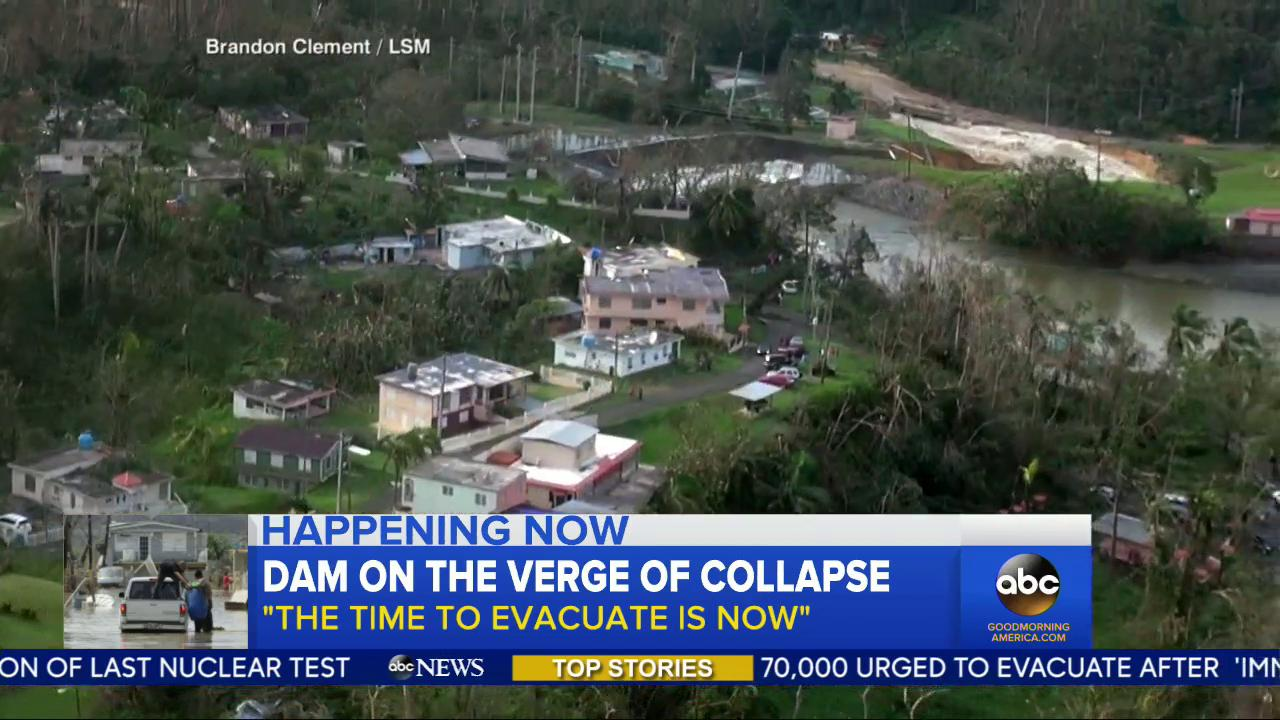 WATCH: Dam on the verge of collapse; 'The time to evacuate is now': https://t.co/5aKL0tKo5i @VictorOquendo https://t.co/vfyTWCWTkO