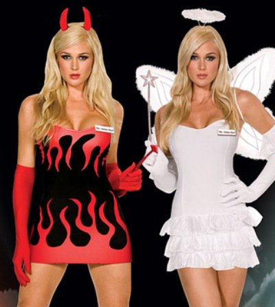 Are you an Angel?  Or a Devil?  #Halloween #hauntedhouse Vegas has the costume contests with the most prize $$$ Reservations Tony 7026138612 https://t.co/1KqUppHqi5