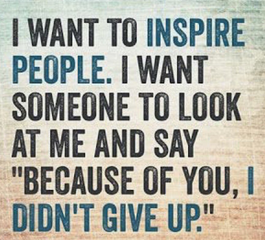 Be that person for someone! #Inspire #Believe #Achieve #Encourage #Support #BetheExample<br>http://pic.twitter.com/IdwpaBBGPL