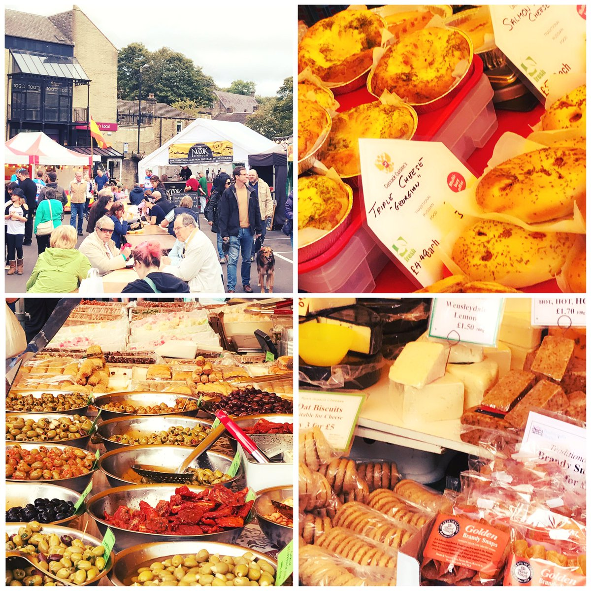 Great work from the @HolmfirthFood team again! Lots of tasty stalls &amp; great atmosphere #holmfirth #huddersfield #food #drink #yorkshire <br>http://pic.twitter.com/wEVGWPSrq0