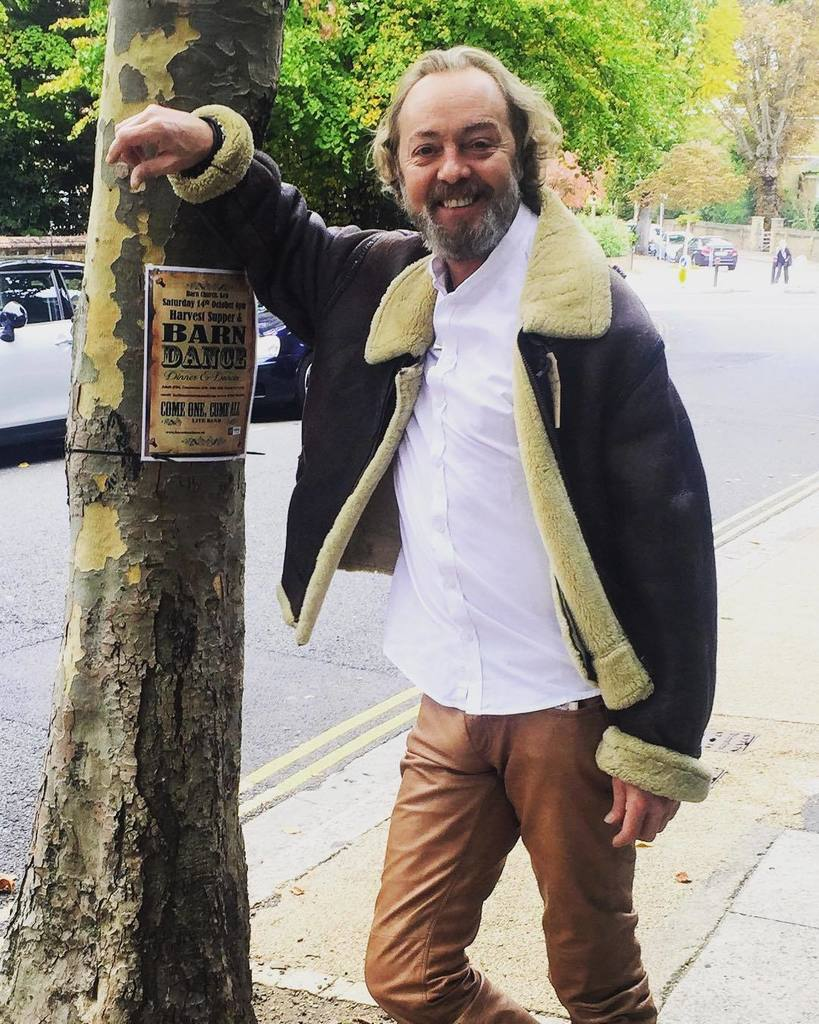 Oh what a handsome chap! The lovely Mark from #westbrookshairkew posing in our amazing #vintage #aviatorjacket #mlg <br>http://pic.twitter.com/Ktb9XmpqBg