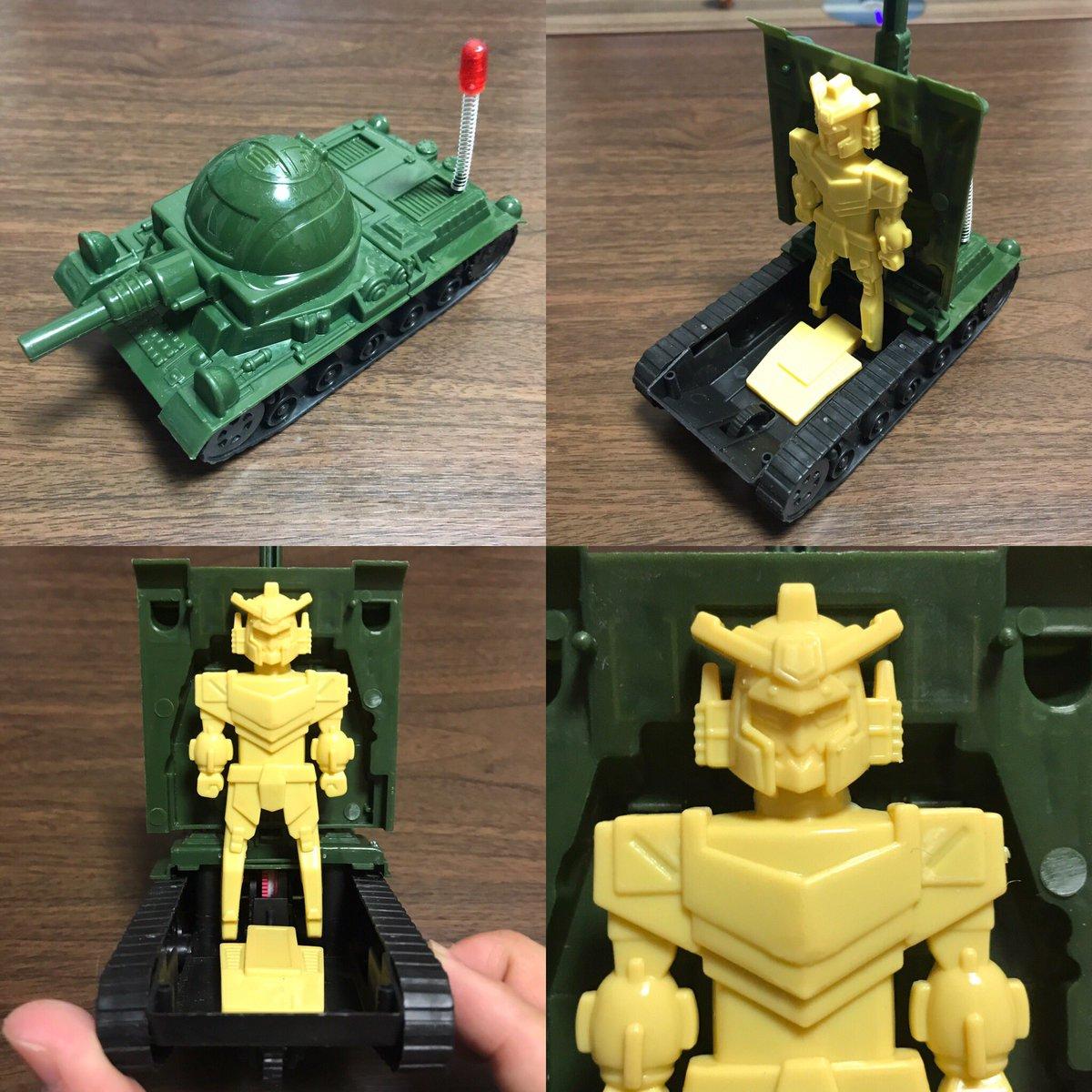 test ツイッターメディア - #DAISO で見つけたゼンマイ戦車。ロボット内蔵というのが斬新だなと^_^; https://t.co/oD11PjxSpT