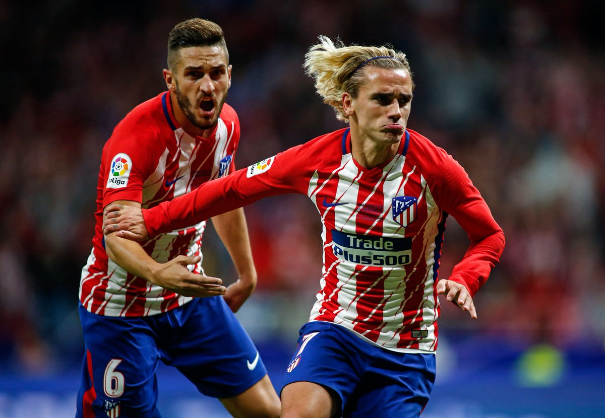 Antoine Griezmann has now scored in back-to-back #LaLiga home games this season.   vs. #Málaga  vs. #Sevilla  Loving the new stadium.  <br>http://pic.twitter.com/SdhHM8Pc7k