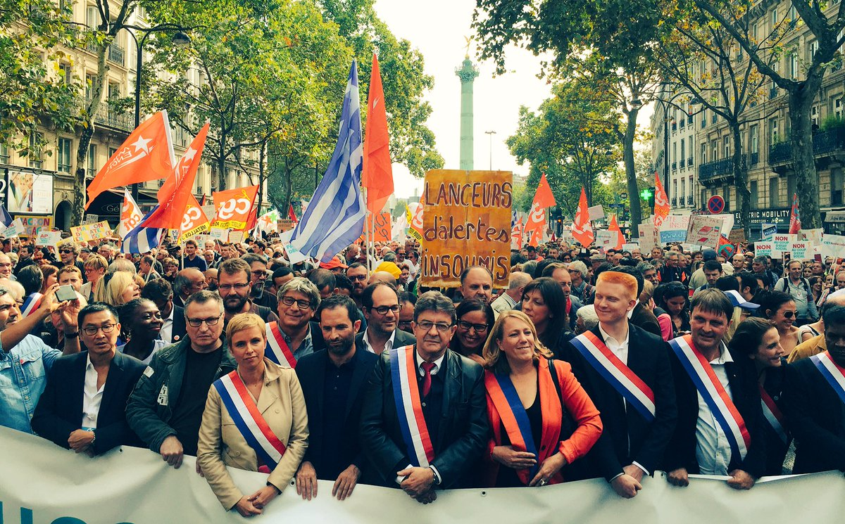 À Bastille contre le coup d'état social du gouvernement ! #JaiBastille #23septembre