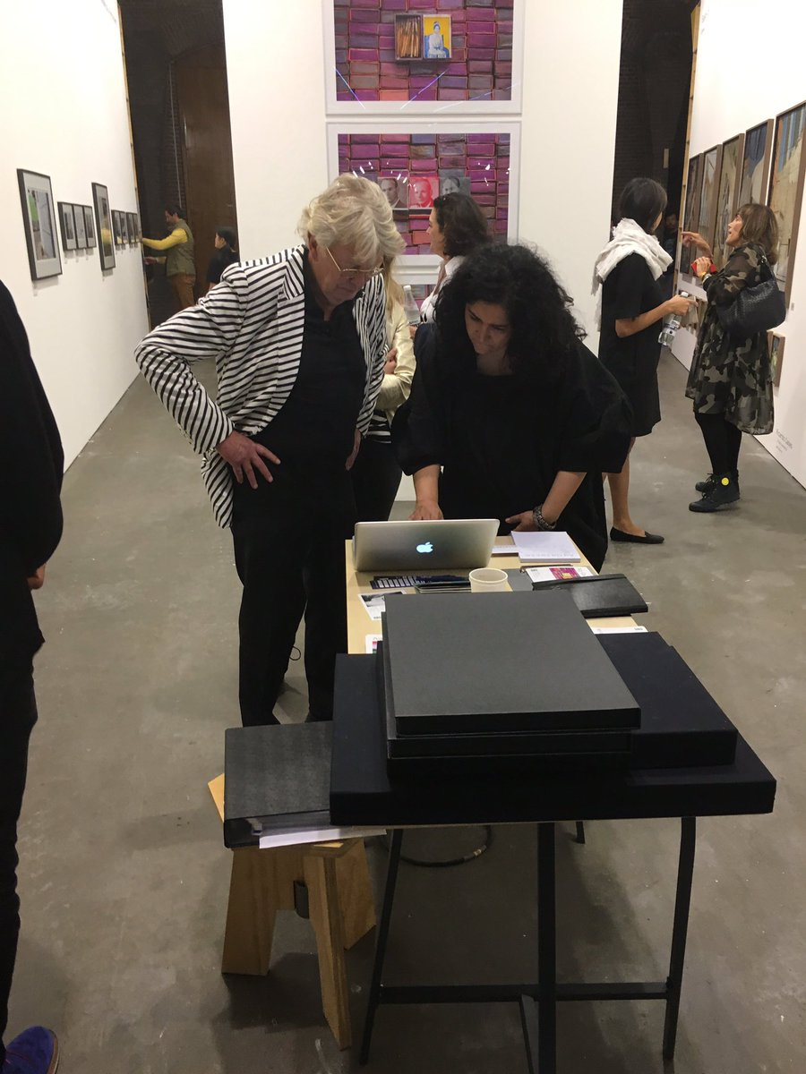 Come and see us at @UnseenPlatform @AgGalerie booth 52 until 24 Sept 17 hrs #westergasfabriek #amsterdam #fair<br>http://pic.twitter.com/49nqyTE4Xu