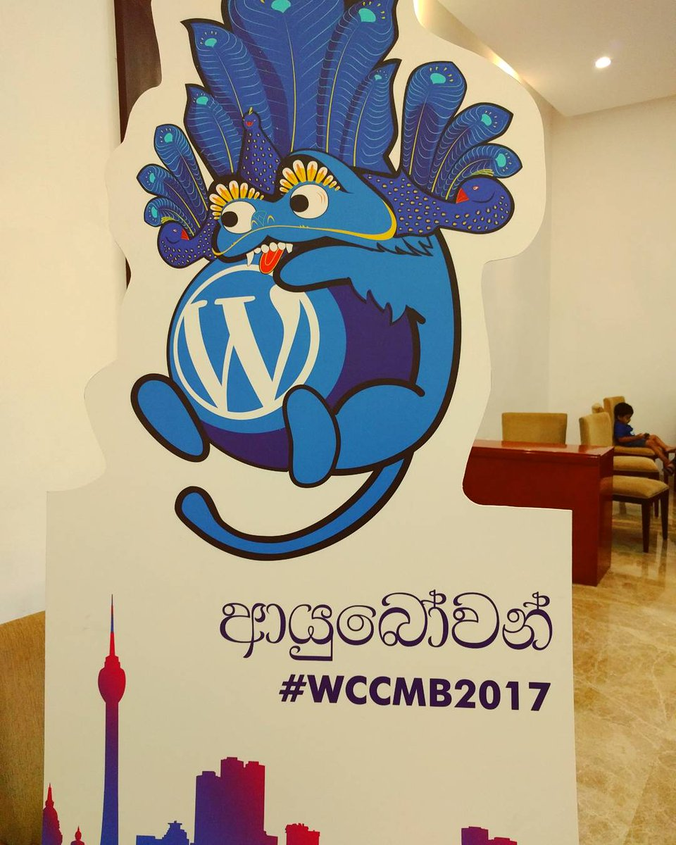 test Twitter Media - One of the most cute #Wapuu I have seen!  #wccmb #wccmb2017 #WordCamp #Colombo #SriLanka #instagram #Conference #mascot #WordPress https://t.co/RyU3yzGpwx