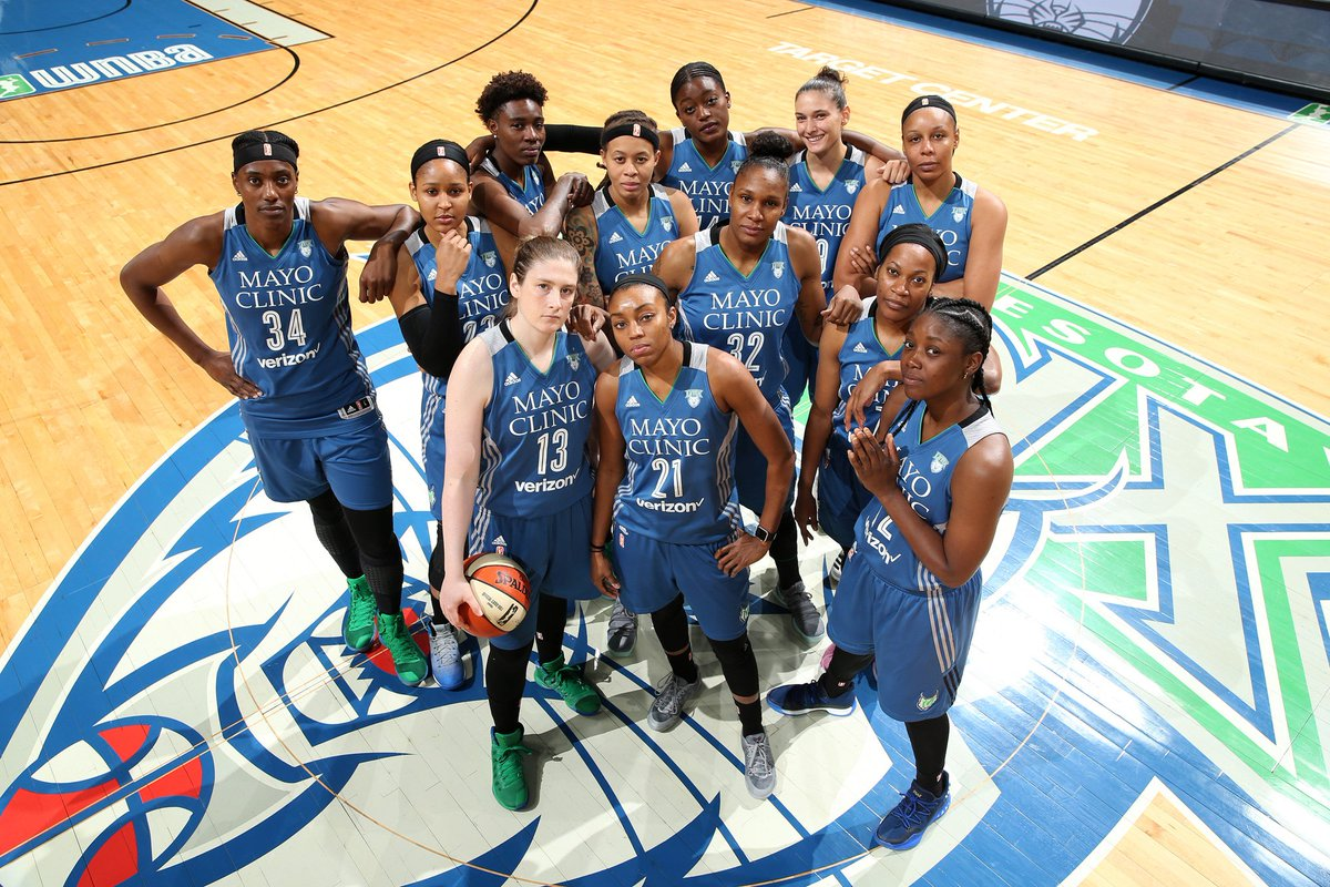 RT if you're rolling with the @MINNESOTALYNX! #WNBAFinals https://t.co...