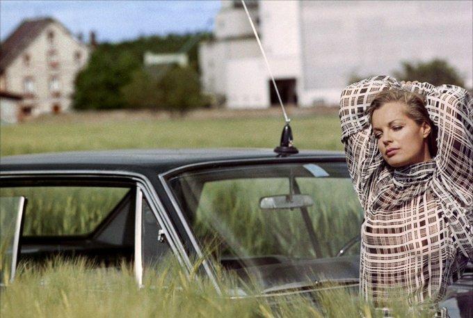 Happy birthday Romy Schneider. In César et Rosalie, directed by Claude Sautet Georges Pierre, 1972