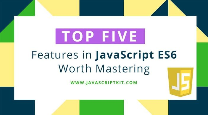 Top five features in #JavaScript #ES6 Worth Mastering  https:// buff.ly/2wbwSLf  &nbsp;  <br>http://pic.twitter.com/kihn11jx82