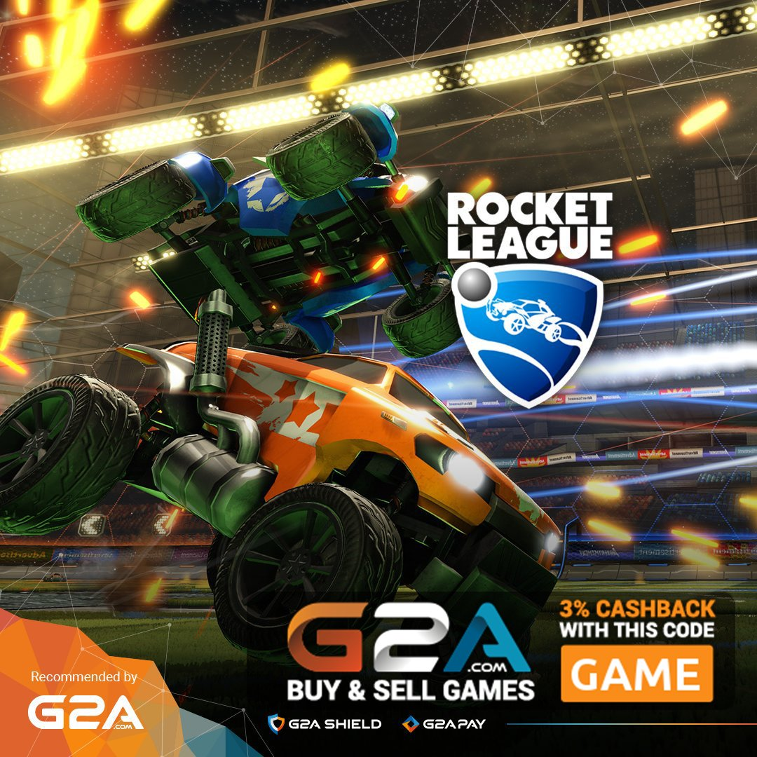 Bored of #fifa17 ? Try some new #games now! Try out #Rocketleague at #G2A  Check it out here:  http:// bit.ly/2dYWRN8  &nbsp;   @HyperRTs  @DNR_CREW<br>http://pic.twitter.com/37Z3TxyGEl