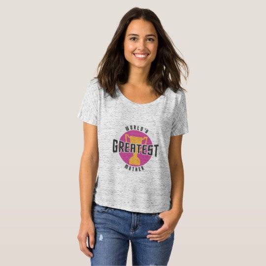 WORLD&#39;S GREATEST MOTHER (PINK) T-Shirt | Shop @  https:// goo.gl/OqdLa7  &nbsp;   &lt;|&gt; #mothersday #mothersdayweekend #mom #motherhood<br>http://pic.twitter.com/d1Qy7VcmbK