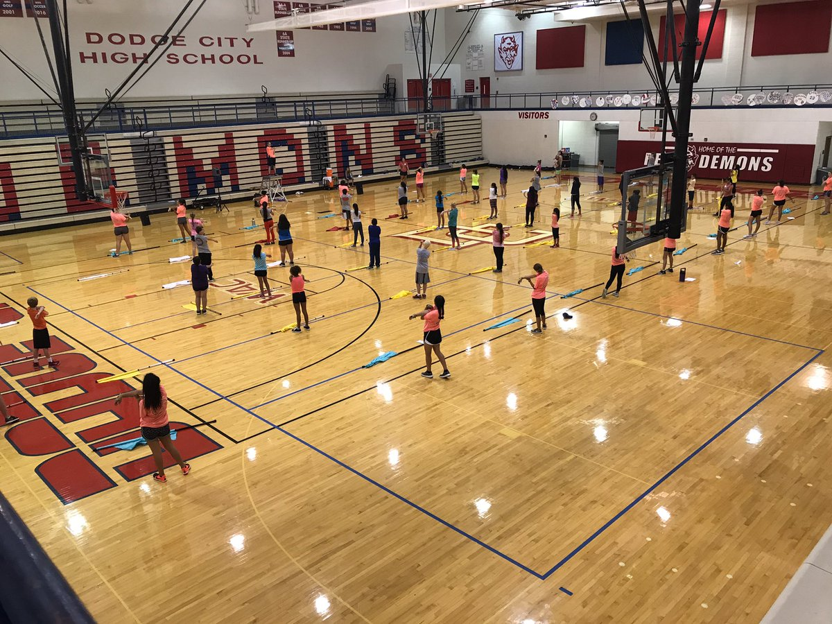 Middle School Color Guard Camp! Exciting to have 40 kids involved from both middle schools! #guard #futurepridemembers<br>http://pic.twitter.com/cP52Qzp1zp