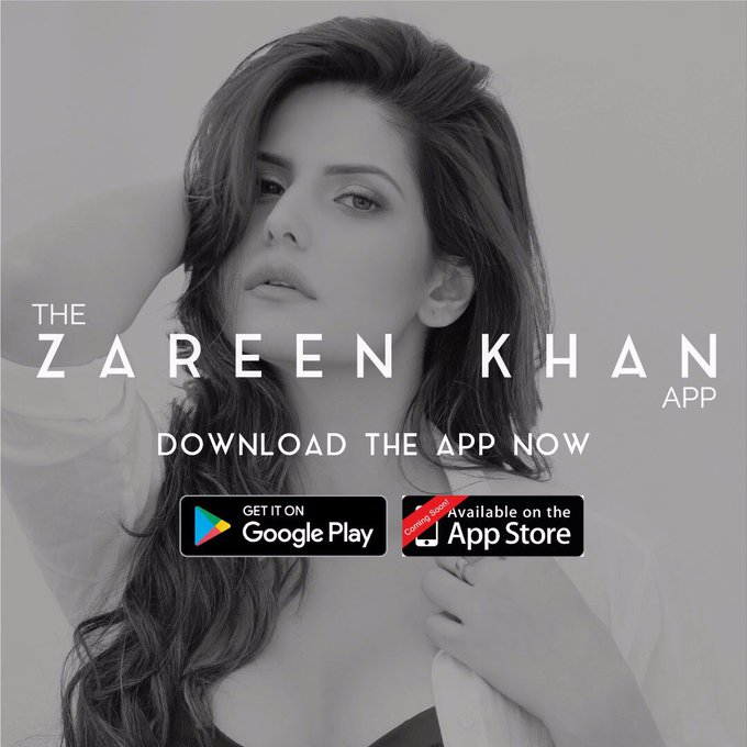 Time to unveil the surprise! 🦄🌈💖 Download the Zareen Khan app now on Google playstore. IOS: Coming soon. #MyWorld #AtATouch #ZareenKhanApp https://t.co/RgyPVQFHmG
