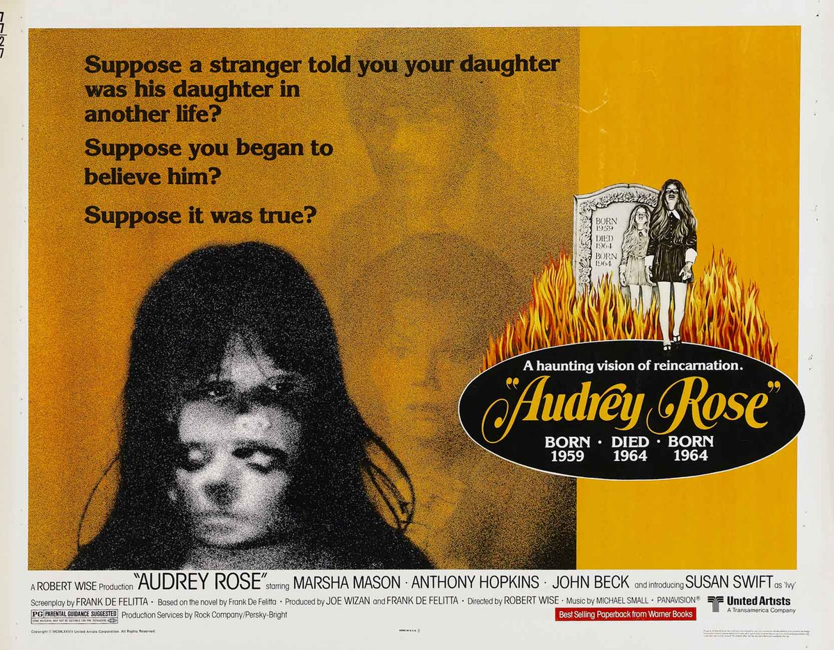 """Dr. Giallo on Twitter: """"#40YearsAgo AUDREY ROSE (1977) by Robert ..."""