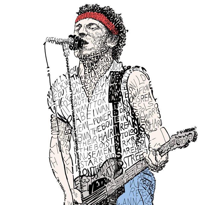 Happy 68th Birthday Bruce Springsteen!!