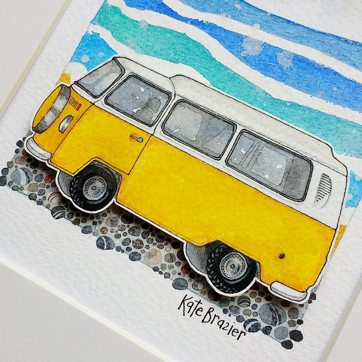 Afternoon @Crafturday_ I am having an #Etsy reshuffle today. This original layered watercolour is on special offer! #HandmadeHour <br>http://pic.twitter.com/j7D6moMV1p
