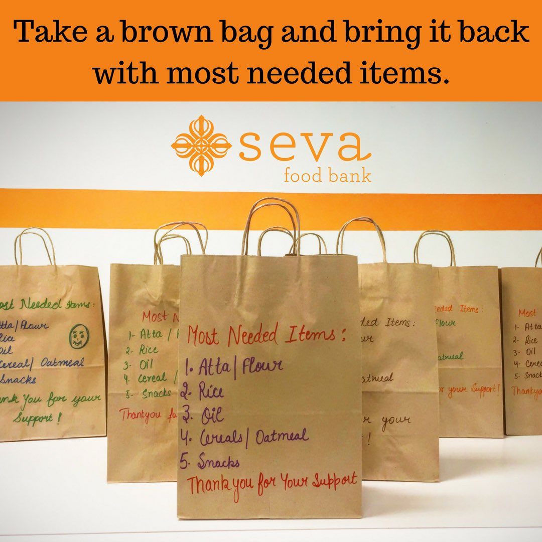 Seva Food Bank On Twitter Don T Forget To Bring In Your