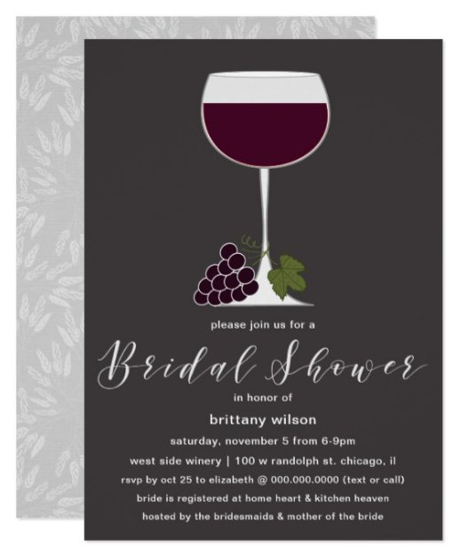 Elegant Wine Tasting Bridal Shower Invitation  http://www. weddingpaperlove.com/elegant_wine_t asting_bridal_shower_invitation-256248878654248252.html &nbsp; …  #weddings #weddingseason #bridal #bridalshower #bridetobe #weddinghour<br>http://pic.twitter.com/dFb713h9Sq