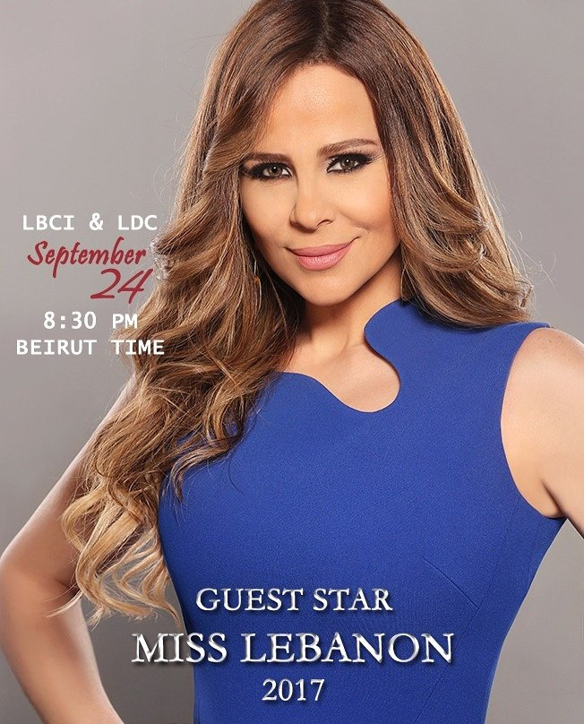 So excited to be the guest star of @MissLebOfficial 2017 tomorrow Sunday 24th of September on #LBC and #LDC Lebanon, 8.30pm (Beirut time)  <br>http://pic.twitter.com/sbRMunnDSc